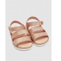 ΠΕΔΙΛΑ - GIRLS PINK GLITTER SANDAL FOOTWEAR